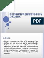 PRESENTACION AUTORIDADES AMBIENTALES