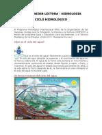 Ciclo Hidrologico - Compren Lect. Ucv