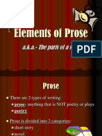 elements of prose