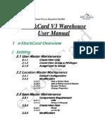UserManual v3 Warehouse