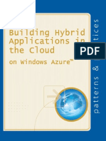 [Microsoft] Patterns & Practices - Building Hybrid Applications in the Cloud - On Windows Azure [2012]