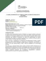 Programa Cátedra 2014-3