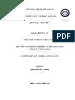 Comercio Internacional 10 Principios de Mankiw