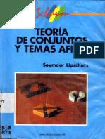 Teoría de Conjuntos y Temas Afines - Seymour Lipschutz - 1ed