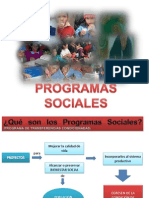 Programas Sociales Final