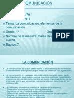 Los Elementos de La Comunicación
