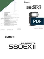 Canon Speedlite User Manual 580EX II