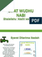 Sifat Wudhu
