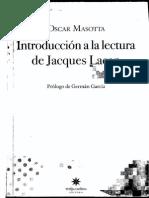 Oscar Masotta-Introduccion a La Lectura de Lacan