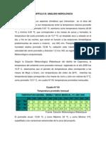 ESTUDIO HIDROLOGICO PTRSD