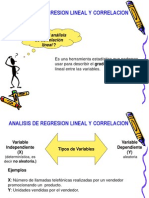 Analisis Regresion Lineal
