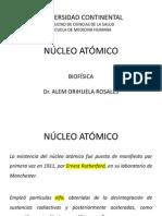 CLASE N° 2 - NÚCLEO ATÓMICO