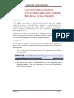 Analisis de Carga Estatica Con Solidworks