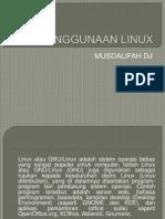 Ppt 1 Mengenal Linux