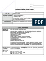 assess 1 2014 -exercise and heart rate lab criteria sheet