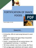 10. Fortifikasi Pada Snack, Confectionary, Dan Beverages