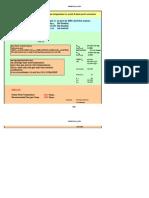 Acid Dew Point Calculation Spreadsheet
