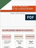 Los Siete Pecados Capitales de La Educación