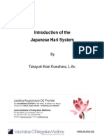 T.kuwahara Intro to hari (japanese Acupuncture)