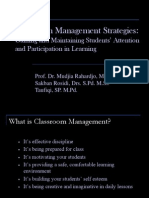 Bravo Viec, Classroom Management Second Version