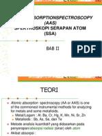 Bab II Spektrofotometri Serapan Atom Aas