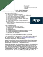 101 Course Info Sheet
