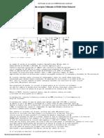 AM Receptor de Radio Con El NE602 Mezclador Equilibrado