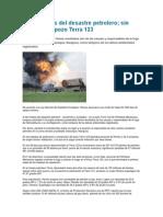 A Tres Meses Del Desastre Petrolero Terra 123