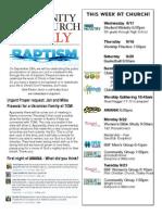 Sept 17 Newsletter