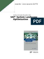 SAP System Landscape Optimization