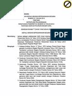 Perka Bkn Nomor 21 Tahun 2010 Hal 1 - 100
