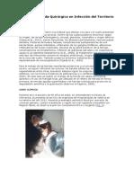Manejo de Herida Quirúrgica en Infección Del Territorio Maxilofacial