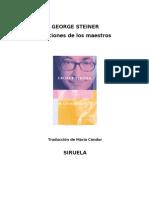 Steiner,+George+-+Lecciones+de+los+Maestros