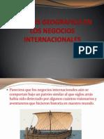 Analisis Geografico en Los Negocios Internacionales