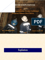 Manejo de Explosivos