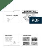Practice of Pharmacy