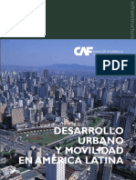 Desarrollourbano y Movilidad Americalatina