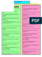 Voice Worksheet