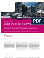 What the Pedestrians Want