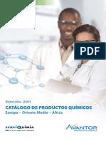 Catalogo Productos Quimicos Avantor2011