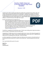 December 4 Newsletter
