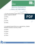 Ejercicios Propuestos Regla de Tres Simple Directa -101