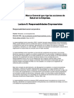 Lectura 8 - Responsabilidades Empresariales