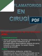 Analgesicos en Cirugía