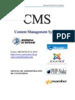 CMS(Sistema de Administracion de Contenidos)