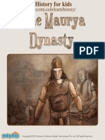 The Maurya Dynasty - History – Mocomi.com