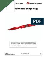 WR Retrievable Bridge Plug - Operating Instructions