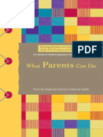Helping Children and Adolescents Cope With Violence and Disasters What Parents Can Do