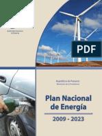 Plan Nacional de Energía 2009-2023