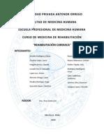 Monografia de Rehabilitacion Cardiaca